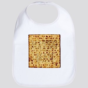 Matza Passover holiday Jewish Traditional Brea Bib