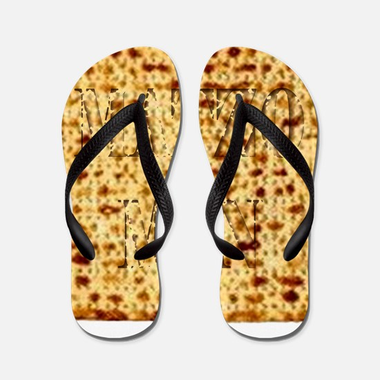 Matza Passover holiday Jewish Tradition Flip Flops