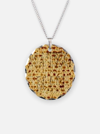 Matza Passover holiday Jewis Necklace