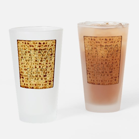 Matza Passover holiday Jewish Tradi Drinking Glass