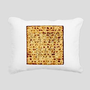 Matza Passover holiday J Rectangular Canvas Pillow