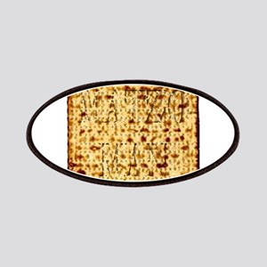 Matza Passover holiday Jewish Traditional Br Patch
