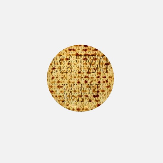 Matza Passover holiday Jewish Traditio Mini Button