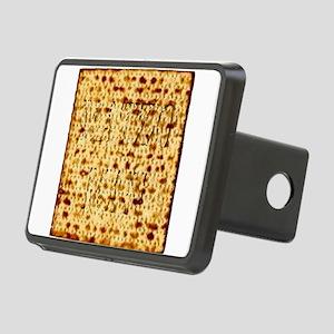 Matza Passover holiday Jew Rectangular Hitch Cover
