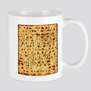 Matza Passover holiday Jewish Traditional Bre Mugs