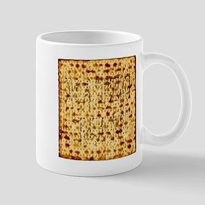 Matza Passover holiday Jewish Traditional Bre Mugs