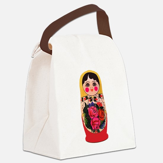 Cool Russian Canvas Lunch Bag