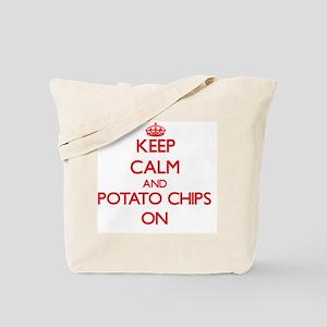 Keep calm and Potato Chips ON Tote Bag