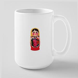 Matryoshka Russian Traditional doll Babushka Mugs