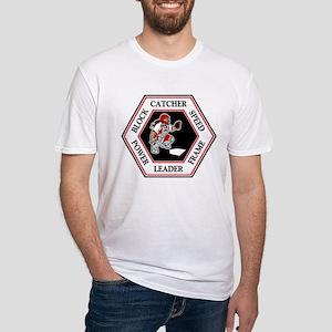 CATCHER HEXAGON Fitted T-Shirt