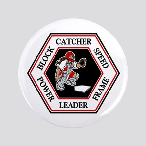 CATCHER HEXAGON Button