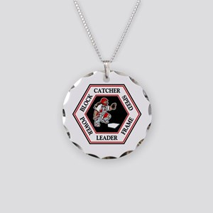CATCHER HEXAGON Necklace Circle Charm