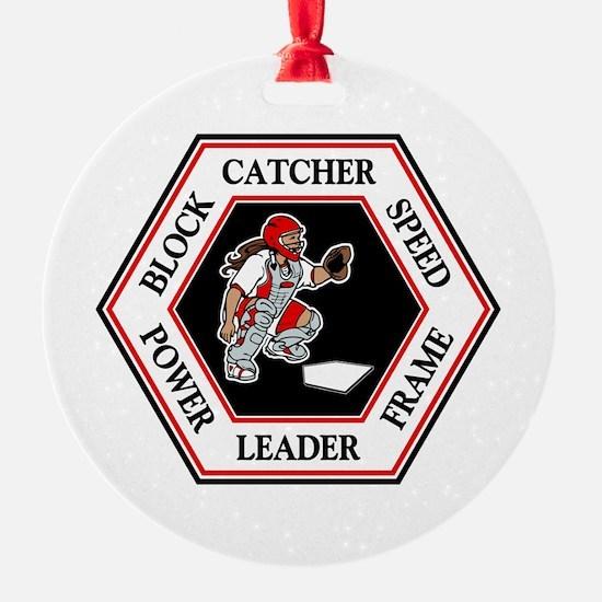 CATCHER HEXAGON Ornament