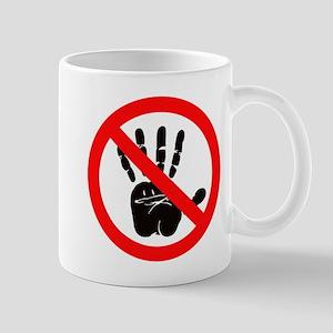 Hands Off! Mugs