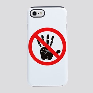 Hands Off! iPhone 8/7 Tough Case