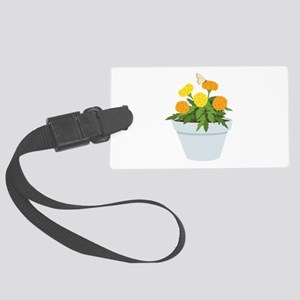 Marigold Butterfly Luggage Tag