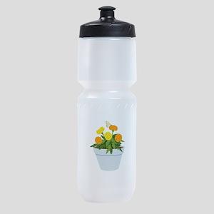 Marigold Butterfly Sports Bottle
