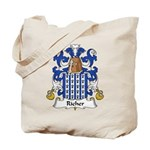 Richer Family Crest Tote Bag