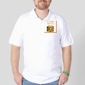 numismatist joke Golf Shirt
