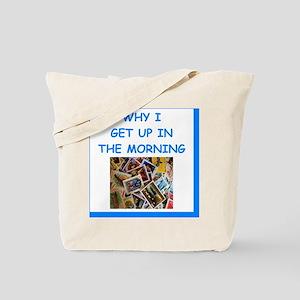 philately humor Tote Bag