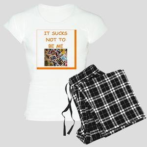 philately humor Women's Light Pajamas