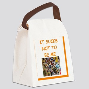philately humor Canvas Lunch Bag