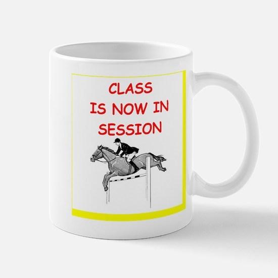 equestrian humor Mug