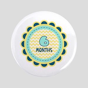 Six Months Milestone Patch Button