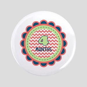 Four Months Milestone Patch Button