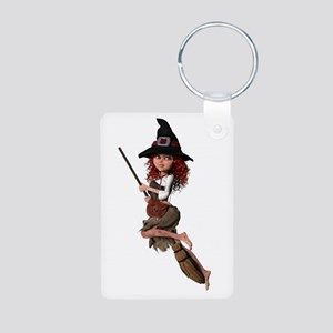 Cute Witch ~ Coral Keychains