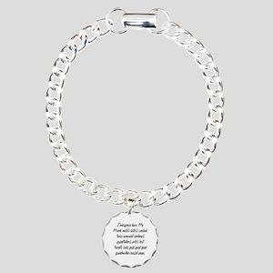Leave PhD Charm Bracelet, One Charm