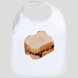 Peanut Butter And Jelly Sandwich Baby Bib