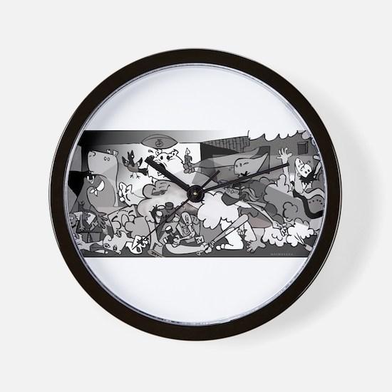 Guernicaracas Wall Clock