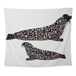 Hooded Seals Wall Tapestry