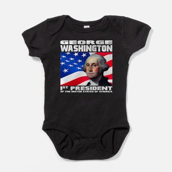 01 Washington Baby Bodysuit