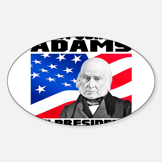 06 JQ Adams Sticker (Oval)
