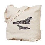 Hooded Seals Tote Bag