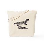 Hooded Seals Tote Bag