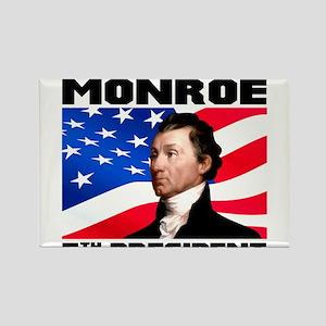05 Monroe Rectangle Magnet