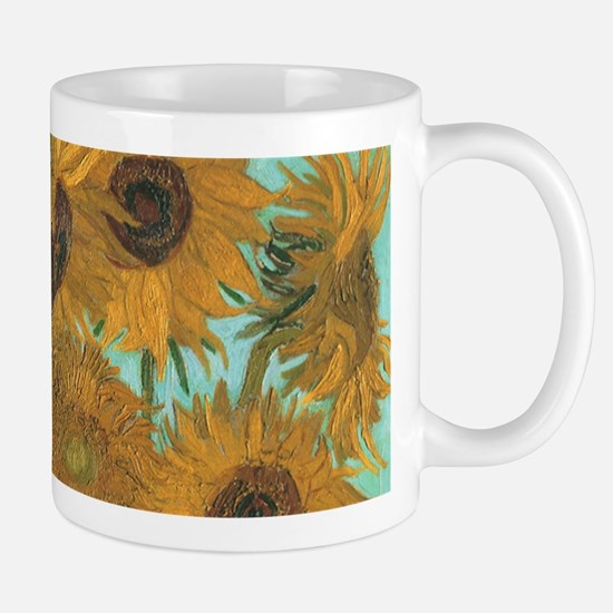 Van Gogh Vase with Sunflowers Mugs