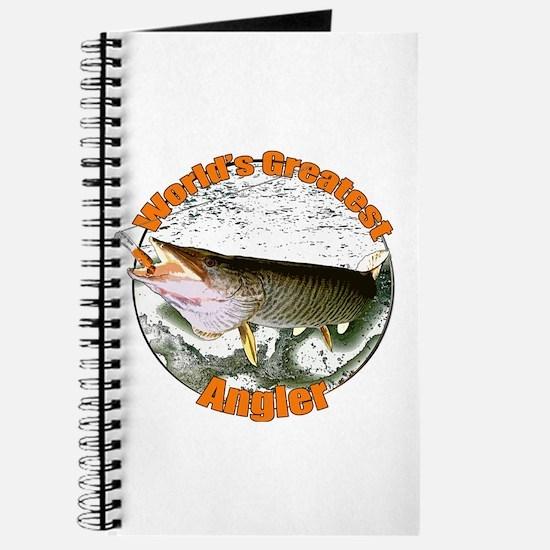 World's greatest angler Journal