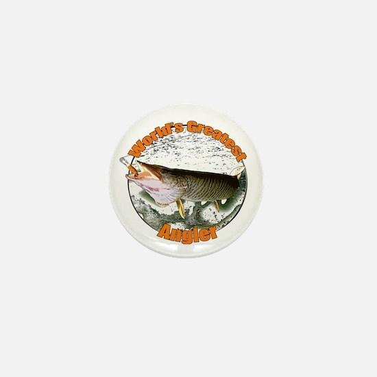 World's greatest angler Mini Button
