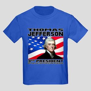 03 Jefferson Kids Dark T-Shirt
