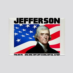 03 Jefferson Rectangle Magnet