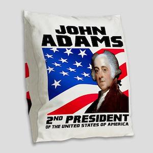 02 Adams Burlap Throw Pillow
