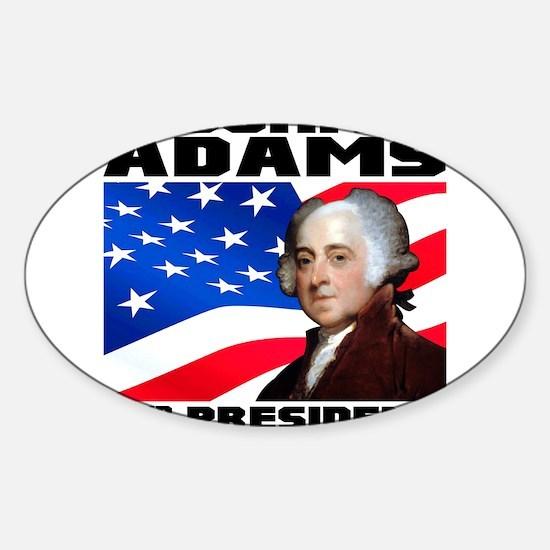 02 Adams Sticker (Oval)