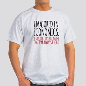 Majored In Economics T-Shirt