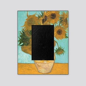 Van Gogh Vase with Sunflowers Picture Frame