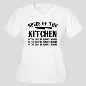 Rules of the Kitchen Plus Size T-Shirt