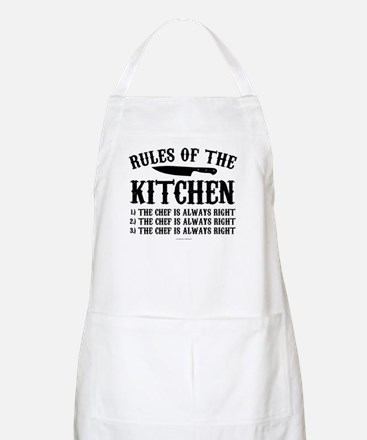 Rules of the Kitchen Apron